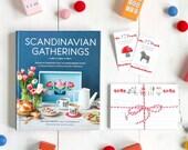 Book + Recipe Cards + Enamel Pin Bundle from Scandinavian Gatherings