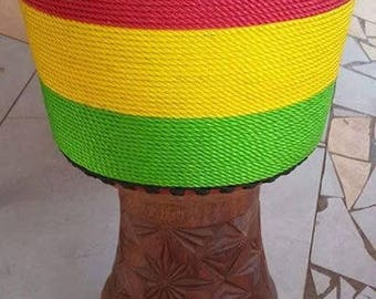 Professional Djembe hand carved from Guinea