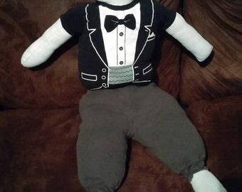 Sewn stuffed toys
