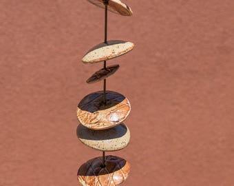 Ceramic Windchimes - 3 1/2 Feet