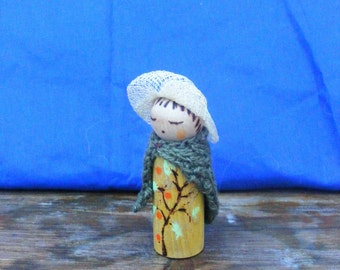 Wooden Peg Doll Seasonal table Nature Waldorf Inspired Crafts