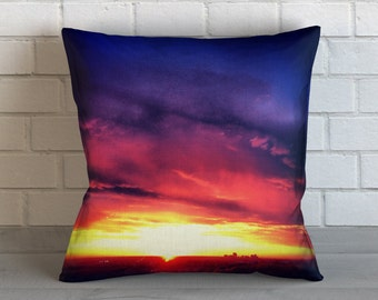 Colorful Sunrise  Pillow