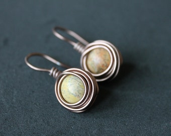 Drop Nest Earrings