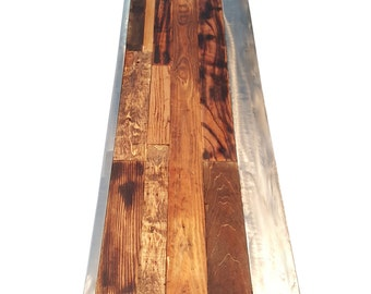 Rustic Reclaimed Industrial Table (CUSTOM FIT)