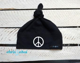 """Baby node caps/baby hat """"Peace"""""""