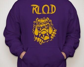 RLQD Exclusive Purple Hoodie **FREE CUSTOMIZATION**
