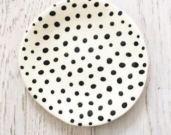 Small Polka Dot Plate