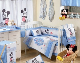 Disney Baby Blue Mickey Mouse Dance 4 Pc Set