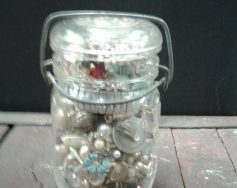 2+ Lb Lot of Vintage Jewelry Making Supplies
