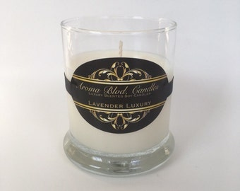 Lavender Luxury Scent 10oz Soy Candle