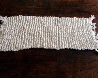 Recycled cotton placemat