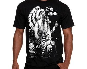 Zakk Wylde Guitar King T-shirt Sz.S,M,L,XL