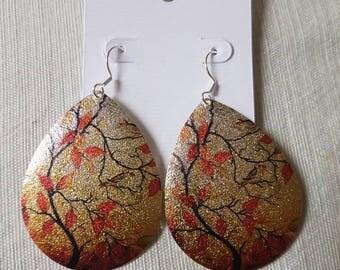 Sterling Silver Asian Radiance Dangle Earrings