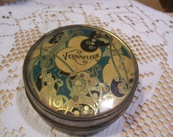 Vernafleur California Perfume Co. Powder Tin