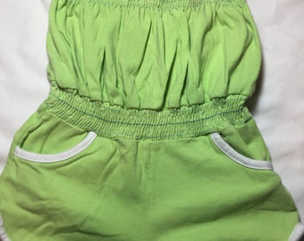 Romper - 24 Months - Lime Green