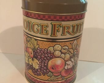 Fruit Decor Tin - Made in England