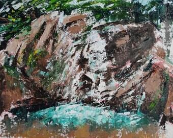 Cascade Falls - 9x12