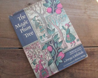 Children's Book The Magic Plum Tree by Fredya Littledale Hardcover 1981