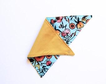 Hummingbird Bandana/ Baby Bandana/ Wild Bandana/Baby Shower Gift Ideas/Mint