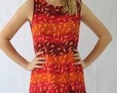 vintage summer mini dress