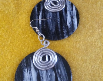 African inspired earrings