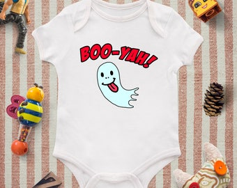 Ghost baby onesie, Ghost baby shower, Personalized baby onesie, Baby girl onesie, Baby boy onesie, Funny baby clothing, Funny baby onesie