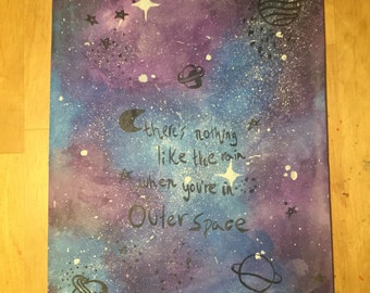 "5 Seconds Of Summer ""Outer space"" painting"