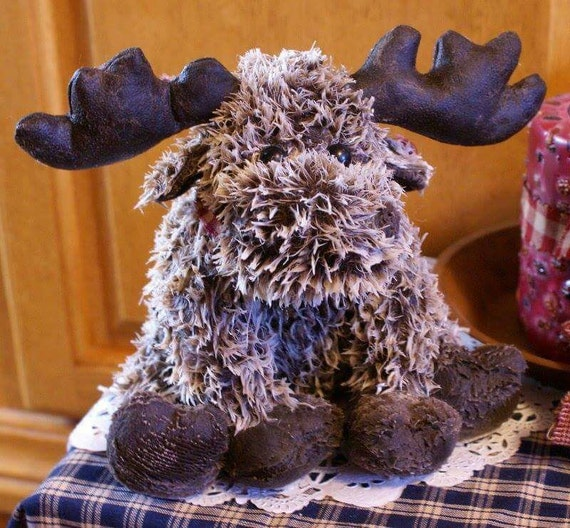 Scented Wax Dipped Moose