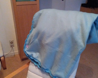 Licht blauwe fleece