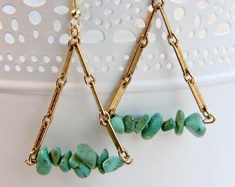 Calypso Trapeze Earrings