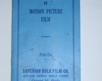 Simplified Reversal of Motion Picture Film Booklet