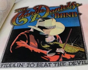 The Charlie Daniels Band, Fiddlin' to beat the Devil, Iron On Transfer -