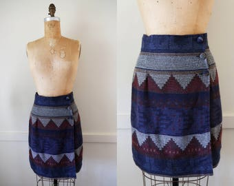 1980's La Belle High Waisted Mini Skirt