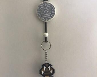 Super Mario Bros Goomba Keychain