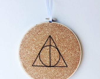 Deathly Hallows Embroidery
