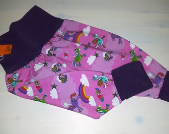 Harem trousers for children Gr. 74/80