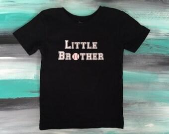 Little Brother Baseball shirt, baseball brother shirt, baseball brother, brother game day shirt, Big Brother Baseball shirt