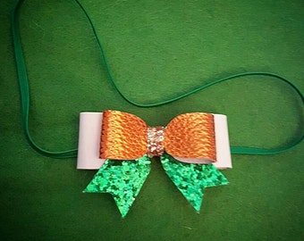Tri colour headband