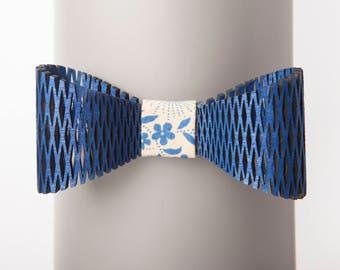 Archipelagos Blue Bow Tie
