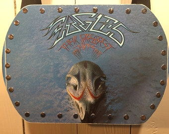 Eagles -Greatest Hits vinyl record purse