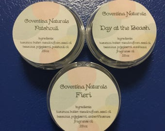 Homemade Natural Solid Fragrance
