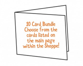 10 Card Bundle Package