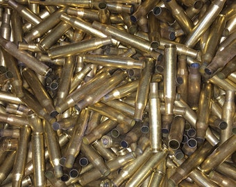 Bullet brass cases 270/.100 once fired dirty.
