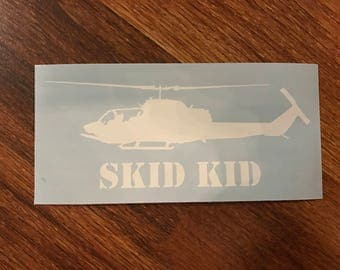 Vinyl Decal AH-1W Super Cobra 'SKID KID'