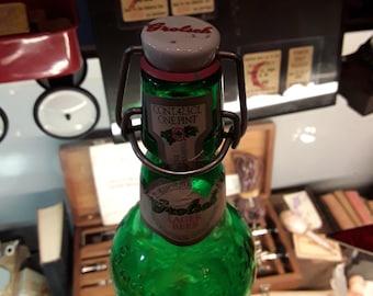 Awesome Old Bottle Grolseh lager bottle