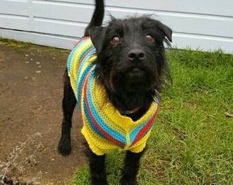 Crochet Dog Jumper (Large size)