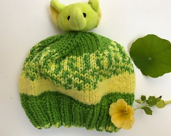 TopThis! Green Elephant Child's Hat
