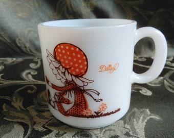 Vintage Holly Hobbie Daisy Mug