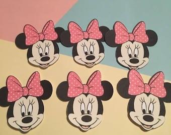 12 Minnie Mouse Die Cuts