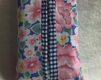 Tissue Holder - Pink Floral (#016)
